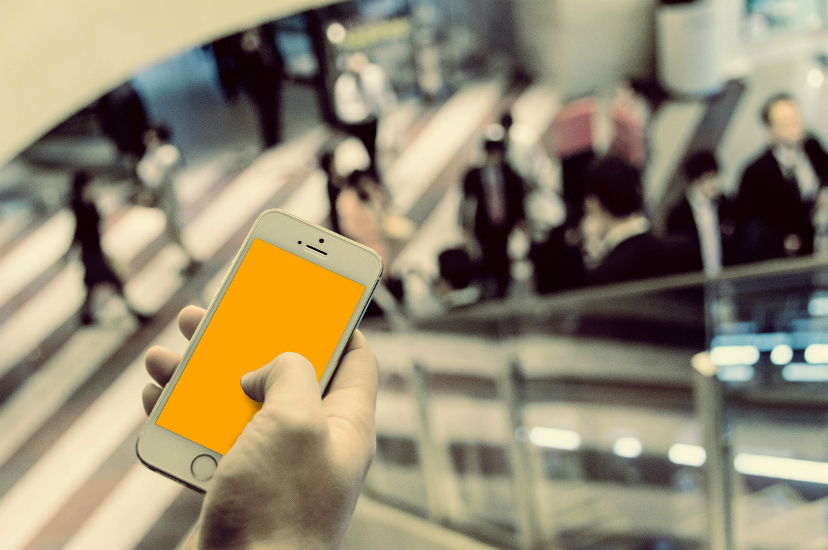 OCKO: Use mobile devices popularity to measure human flow
